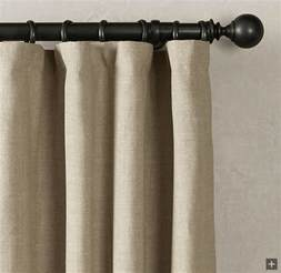how to hide when putting rings on flat panel curtains