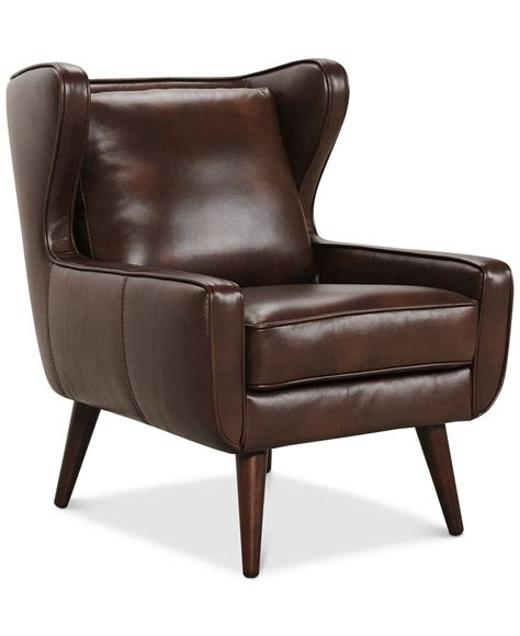 Office Chairs Macys by Bray Modern Wing Chair Furniture Macy S Whil Office