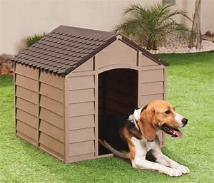 Niche Petit Chien : niche pour petit chien en pvc moka m oogarden france ~ Melissatoandfro.com Idées de Décoration