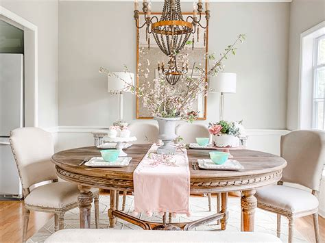 french country dining room reveal  blogger pamela dyer