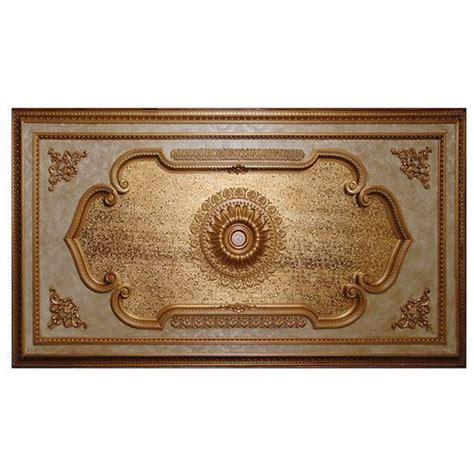 elegant gold rectangular ceiling medallion chandelier