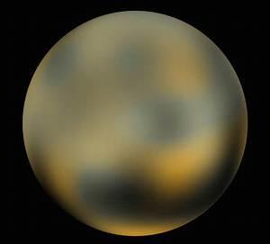 Dwarf Planet Pluto's Color - Pics about space