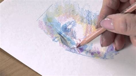 derwent academy watercolour pencil tips youtube
