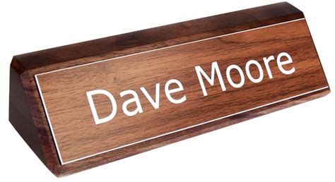 wooden name signs for desk atwood nameplates as desk nameplates desk signs and