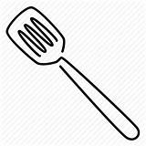 Spatula Icon Sketch Turning Drawing Transparent Utensil Pngio sketch template