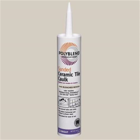 polyblend sanded ceramic tile caulk quartz custom building products polyblend 545 bleached wood 10 5