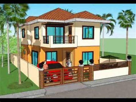 simple house plan design  storey house youtube