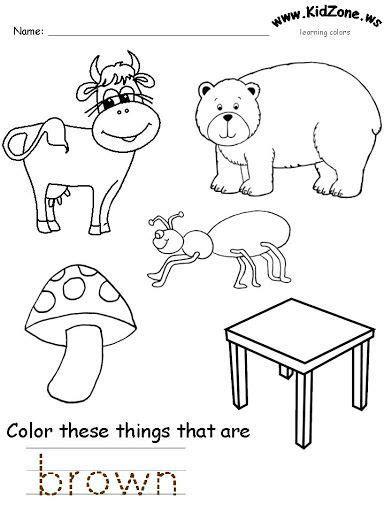 color worksheet  kids  images color worksheets