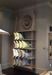rope shelves on pinterest fishing bedroom decor With the advantages and ideas of hanging wall shelves