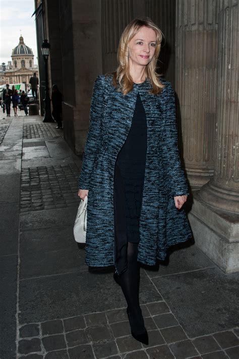 delphine arnault delphine arnault  louis vuitton arrivals paris fashion week