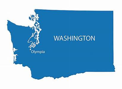 Washington Vector State Clip Map Illustrations Similar
