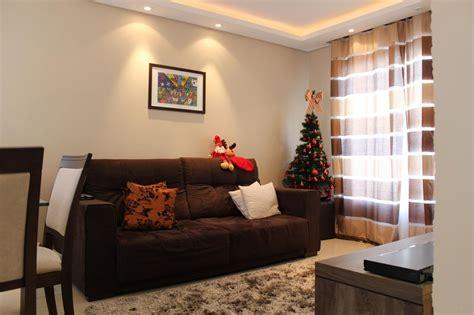 decoração de sala pequena sofá marrom escuro cortina para sala sofa marrom xe25 ivango