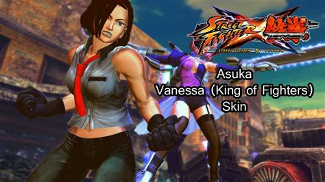 Asuka As Vanessa From King Of Fighters Street Fighter X