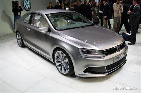 detroit  volkswagen  compact coupe concept