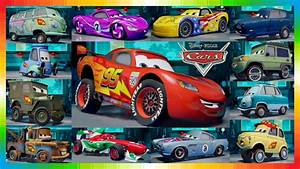 Film Cars 2 : cars 2 movie characters all cars from the cars movie from disney youtube ~ Medecine-chirurgie-esthetiques.com Avis de Voitures