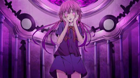 Wallpaper : illustration, anime girls, Mirai Nikki, Gasai ...
