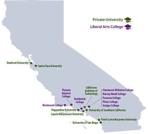 top private college values  california