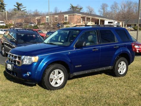 Purchase Used 2008 Ford Escape Hybrid Awd Certified All