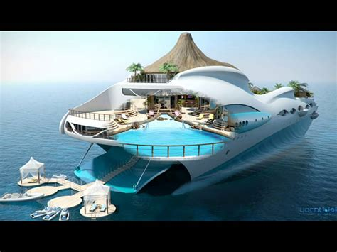 Tropical Island Paradise Yacht-sexe Photo