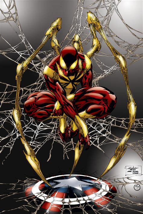 Iron Spiderman Suit  The Iron Spider  Page 2