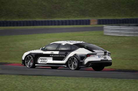 Audi Rs7 Piloted Driving Concept Gets Detailed