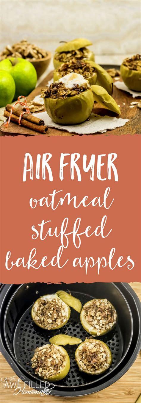 fryer air baked apple recipe
