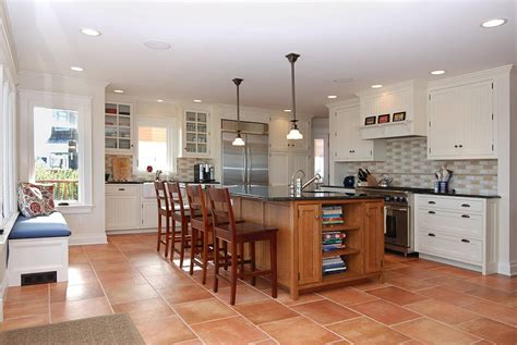 oak kitchen island with granite top 20 interiors that embrace the warm rustic of