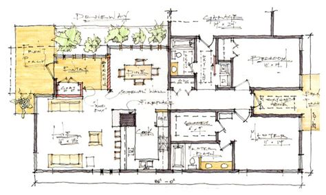 craftsman style house plans two modern craftsman house floor plans 2 craftsman house