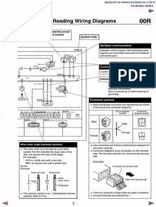 1998 Mazda 323 Radio Wiring Diagram