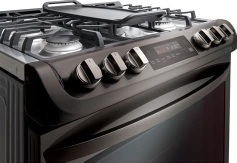 LG LSG4513 30 Inch Slide in Gas Range with Convection®, LG