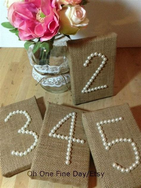 Diy Wedding Table Number Ideas Dream Wedding Wedding