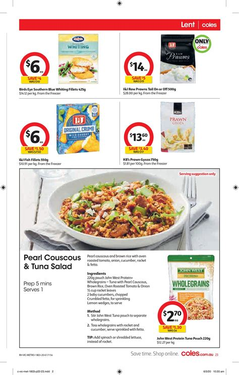 coles current catalogue    au