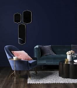 1001 idees pour une deco maison couleur indigo With tapis de couloir avec canape avec fauteuil assorti