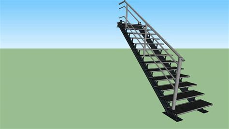 Foldable Stairs Industrial Designer by Industrial Stair Design 3d Warehouse