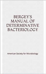 Bergey U0026 39 S Manual Of Determinative Bacteriology By American