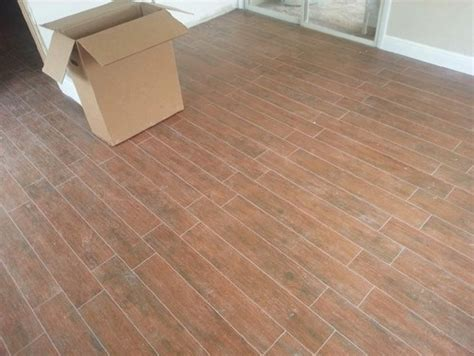 help our wood look tile was not laid in a random pattern