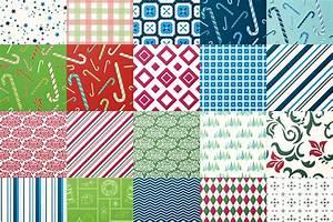 Seamless, Christmas, U0026, Holiday, Patterns, Volume, 1