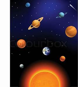Solar system | Stock Vector | Colourbox