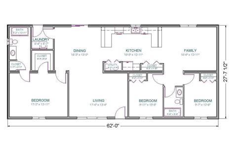 1700 Sq Ft Ranch House Plans • 2018 House Plans and Home ...