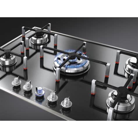 hottes de cuisine encastrables table de cuisson smeg pvs750 verre stopsol supersilver 74 cm fab a