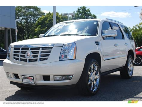 Cadillac Escalade Pearl White Free Download Image About