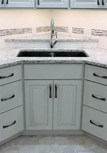 Corner Kitchen Sink Pictures - Corner Sink Kitchen With