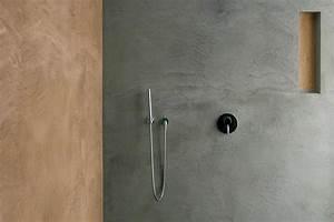 Beton Hydrofuge Pour Salle De Bain : b ton cir r sine cuisine salle de bain salon ~ Edinachiropracticcenter.com Idées de Décoration