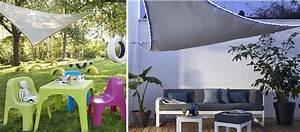 Castorama Voile D Ombrage : conseils pour installer une toile d 39 ombrage dans le jardin ~ Melissatoandfro.com Idées de Décoration