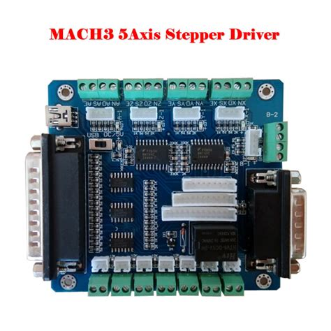 Axis Usb Breakout Board For Cnc Single Stepper Motor