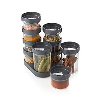 Joseph Joseph Spice Rack by Clearance Kitchen Knives And Cookware Crate And Barrel