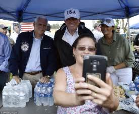 Trump and Melania touch down in Irma-devastated Florida ...