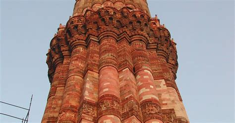 qutb minar   monuments delhi unesco world