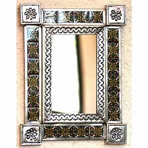 Decoration Murale Miroir : petit miroir d coration murale miroir mexicain d cor avec ~ Teatrodelosmanantiales.com Idées de Décoration