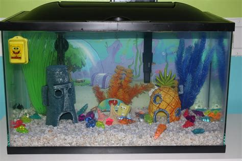 spongebob fish tank accessories pieces of heaven family addition